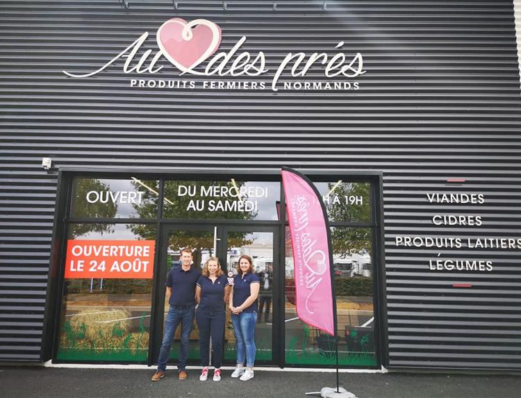 La ferme Au coeur des Prés pour des produits fermiers de qualité près d'Hérouville-Saint-Clair